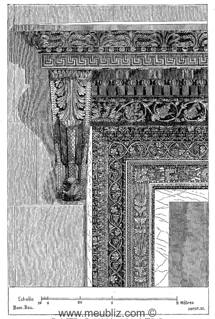 D finition d 39 un chambranle encadrement architectural for Chambranle de la porte