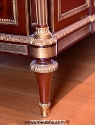 pied toupie de commode Louis XVI Weisweiller