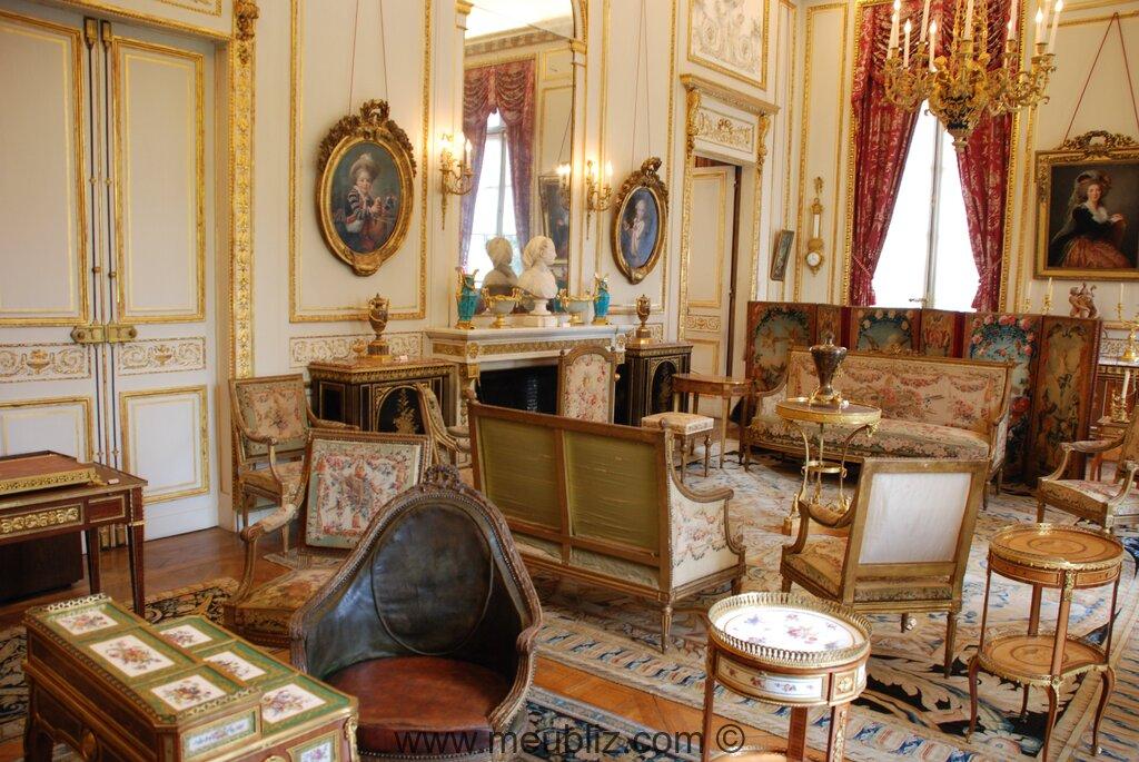 Decor De Salon Fauteuil Arlequin