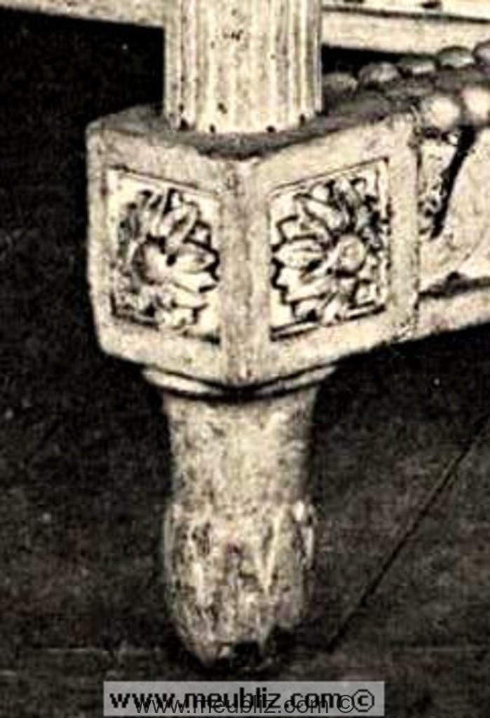 Définition d'un dé de raccordement - Lien assise, pied et bras