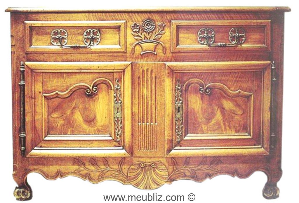 Histoire et volution du style r gional for Histoire du meuble