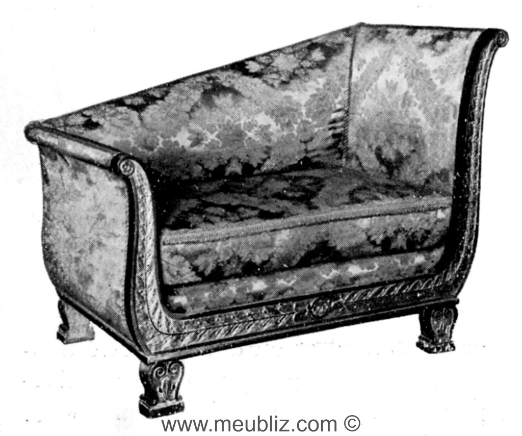 m ridienne restauration louis philippe chevets en crosse meuble de style. Black Bedroom Furniture Sets. Home Design Ideas