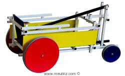 chariot en jouet de Gerrit Thonas Rietveld