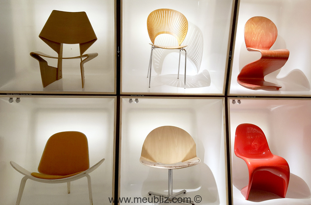 Chaises De Style Design Scandinave.