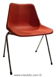"""Chaise empilable """"Polyprop"""" de Robin Day"""