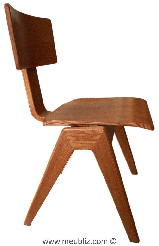 Chaise empilable hillestak par robin day meuble design - Chaise robin day habitat ...