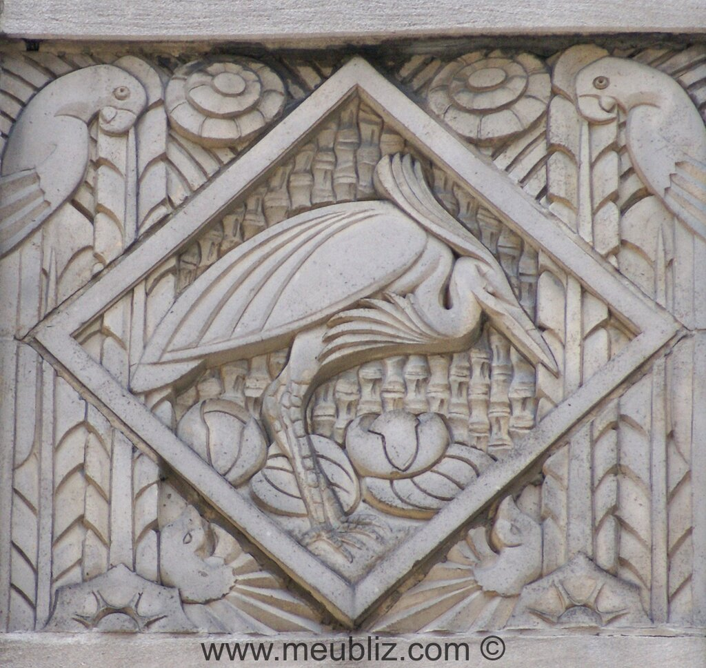 Style art d co 1920 1940 for Bas relief mural