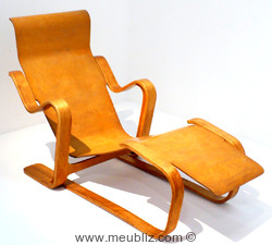 Chaise longue isokon de Marcel Breuer