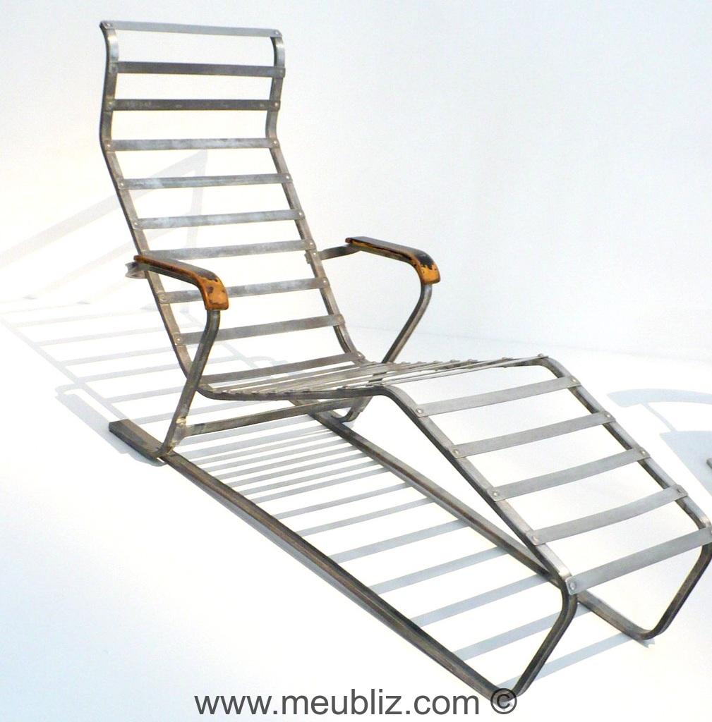 chaise longue n 313 par marcel breuer meuble design. Black Bedroom Furniture Sets. Home Design Ideas