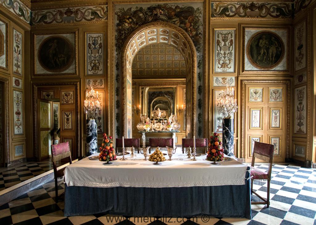 salle manger du xviie sicle au chteau de vaux le vicomte
