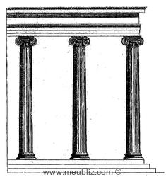 D finition de l 39 ordre ionique for Architecture classique definition