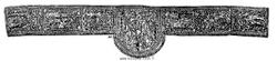 orfroi bordant une chasuble du début du XVIe siècle