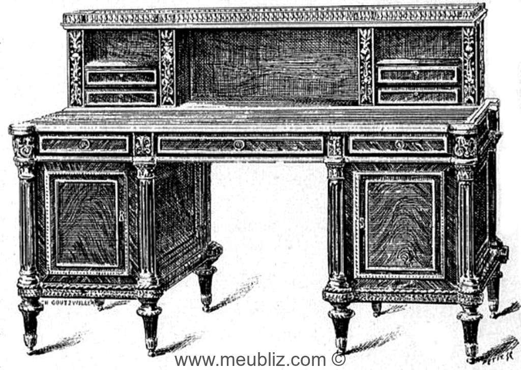 D finition d 39 un bureau gradin for Bureau meaning