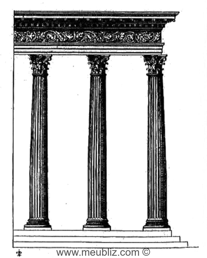 D finition de l 39 ordre corinthien for Architecture classique definition