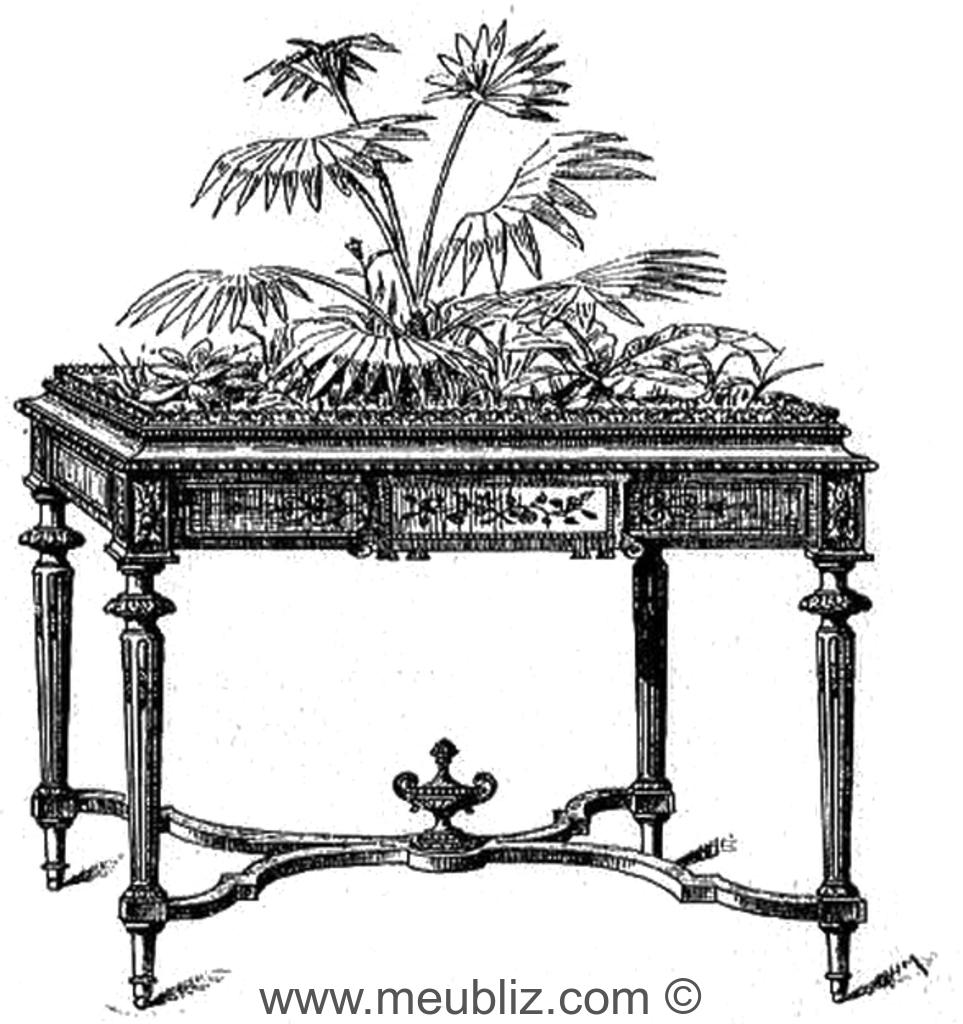 que mettre au fond d une jardiniere en bois. Black Bedroom Furniture Sets. Home Design Ideas