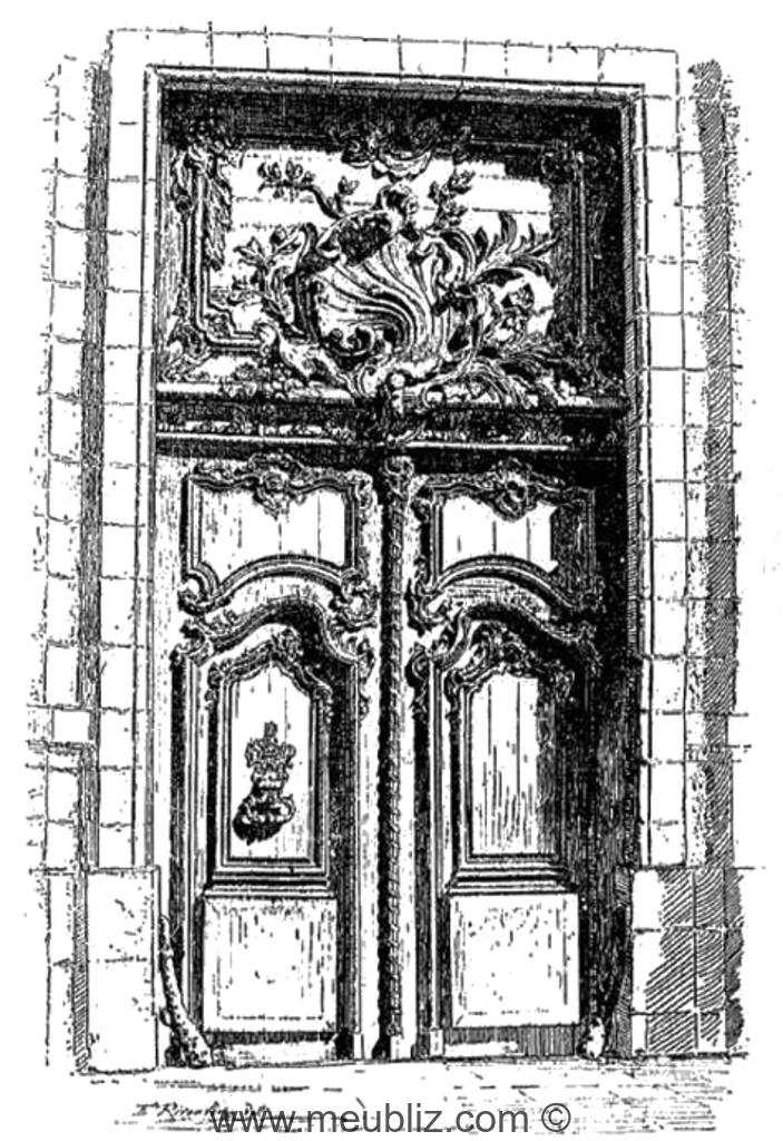 D finition d 39 une porte coch re for Porte meaning