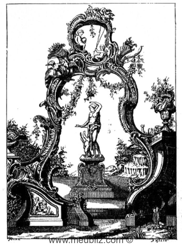 Définition du style rocaille , Louis XV et rococo