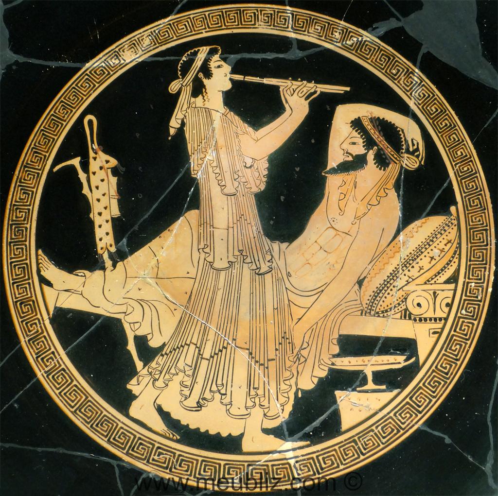 Style Antique Grec 1000av 146av J C