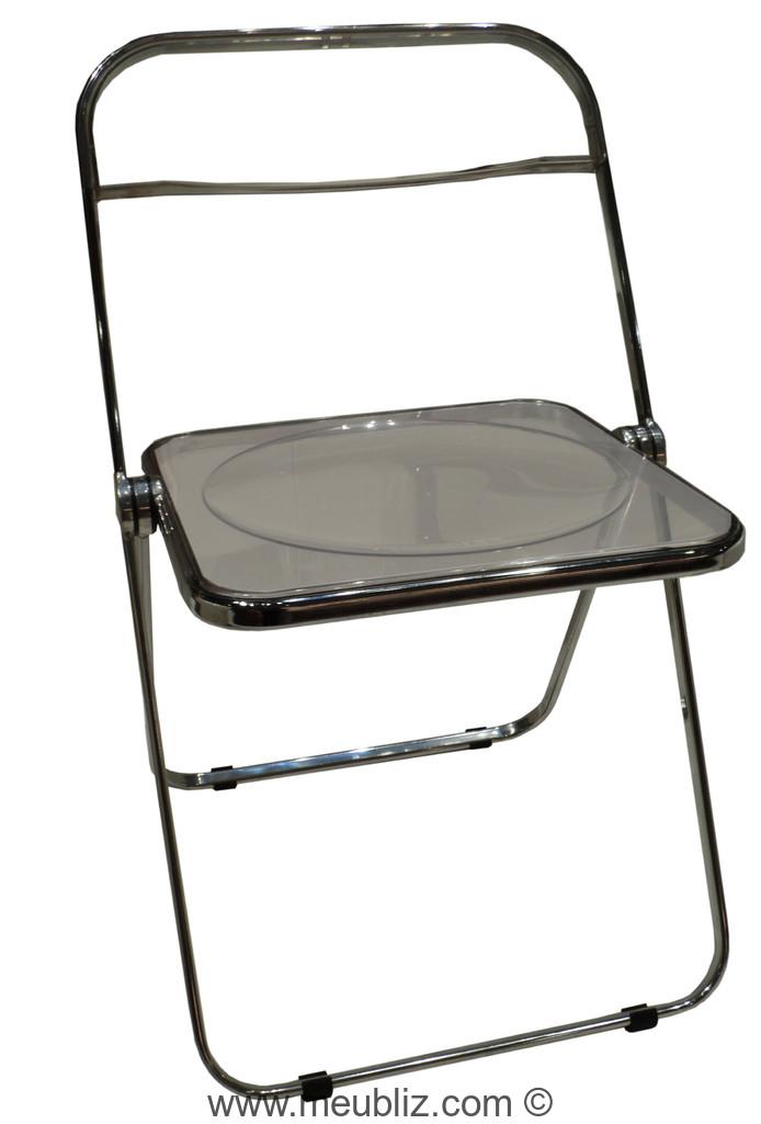 chaise pliante plia par giancarlo piretti meuble design. Black Bedroom Furniture Sets. Home Design Ideas