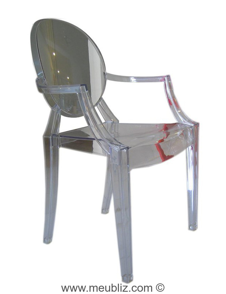 Chaise Louis Ghost De Philippe Starck
