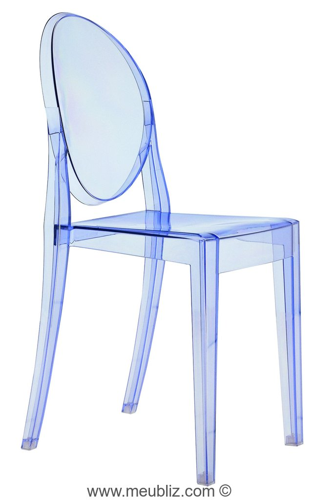 Chaise Victoria Ghost Par Philippe Starck Meuble Design