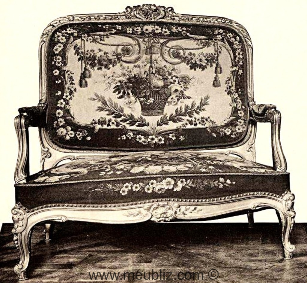 canap louis xv diff rentes sortes. Black Bedroom Furniture Sets. Home Design Ideas