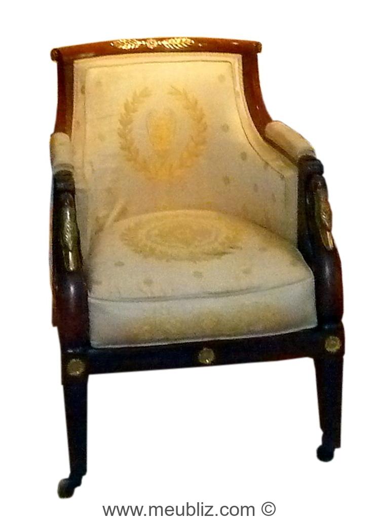 berg re empire en gondole dossier en hotte meuble de style. Black Bedroom Furniture Sets. Home Design Ideas