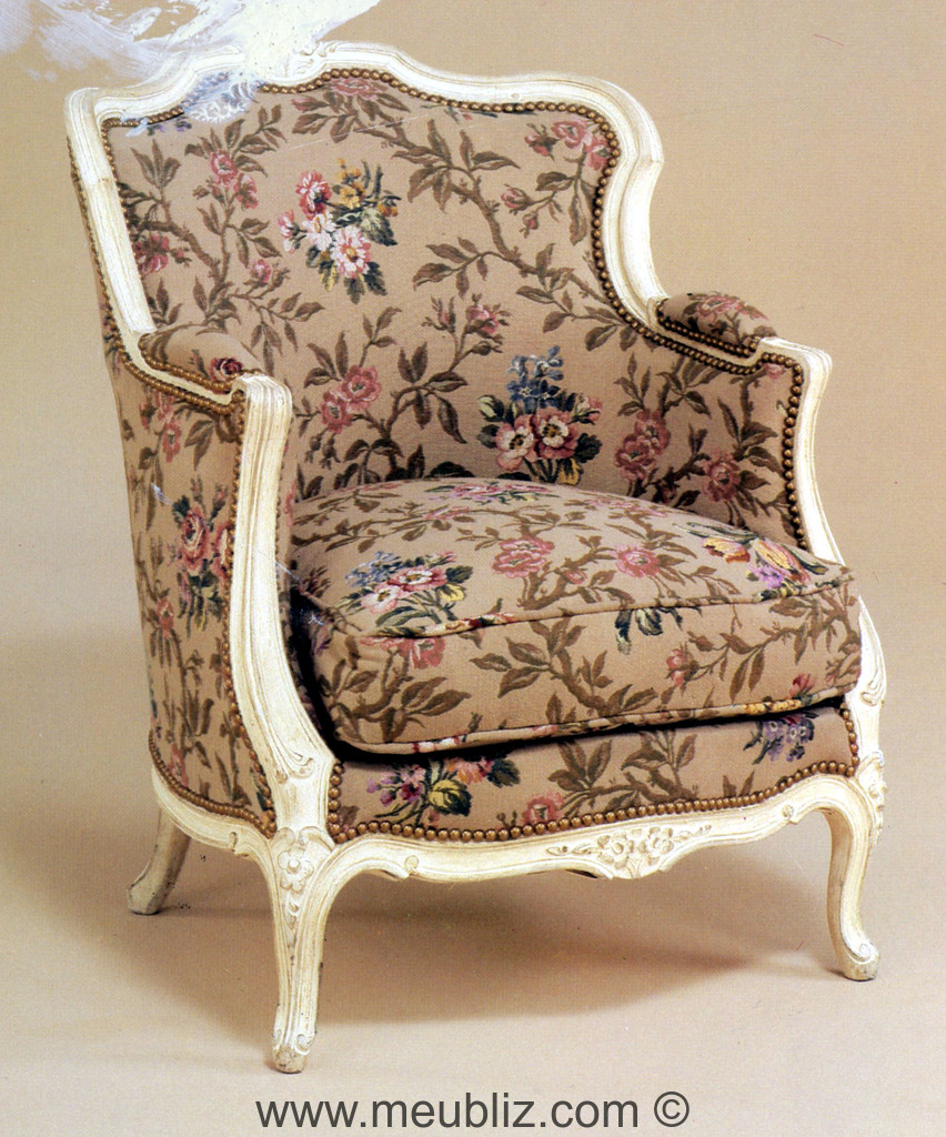 berg re gondole louis xv dossier chantourn meuble de. Black Bedroom Furniture Sets. Home Design Ideas