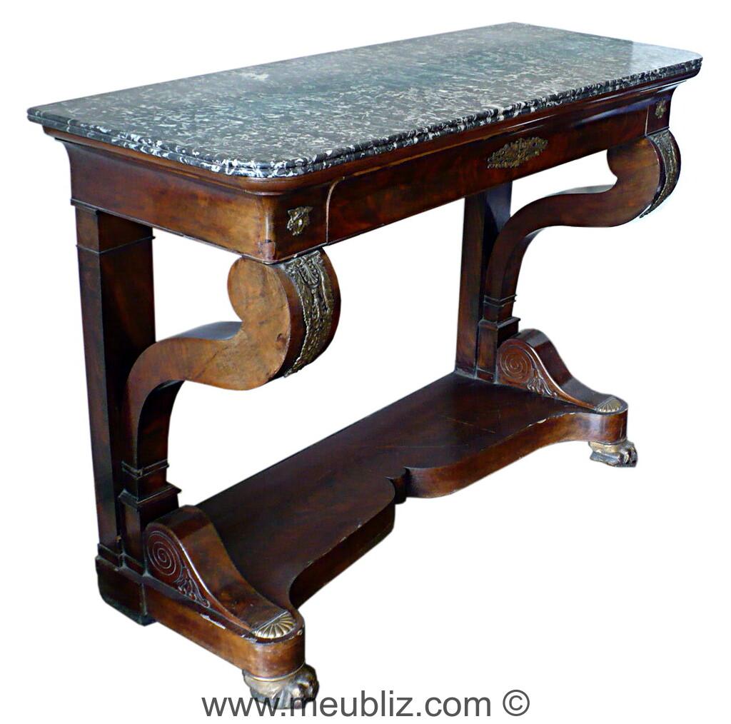 Restauration Louis Philippe Meubles De Style Et Mobilier Ancien # Meuble Ancienne Servant