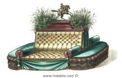 Canapé - Napoléon III - second Empire - meubles de style et mobilier ...