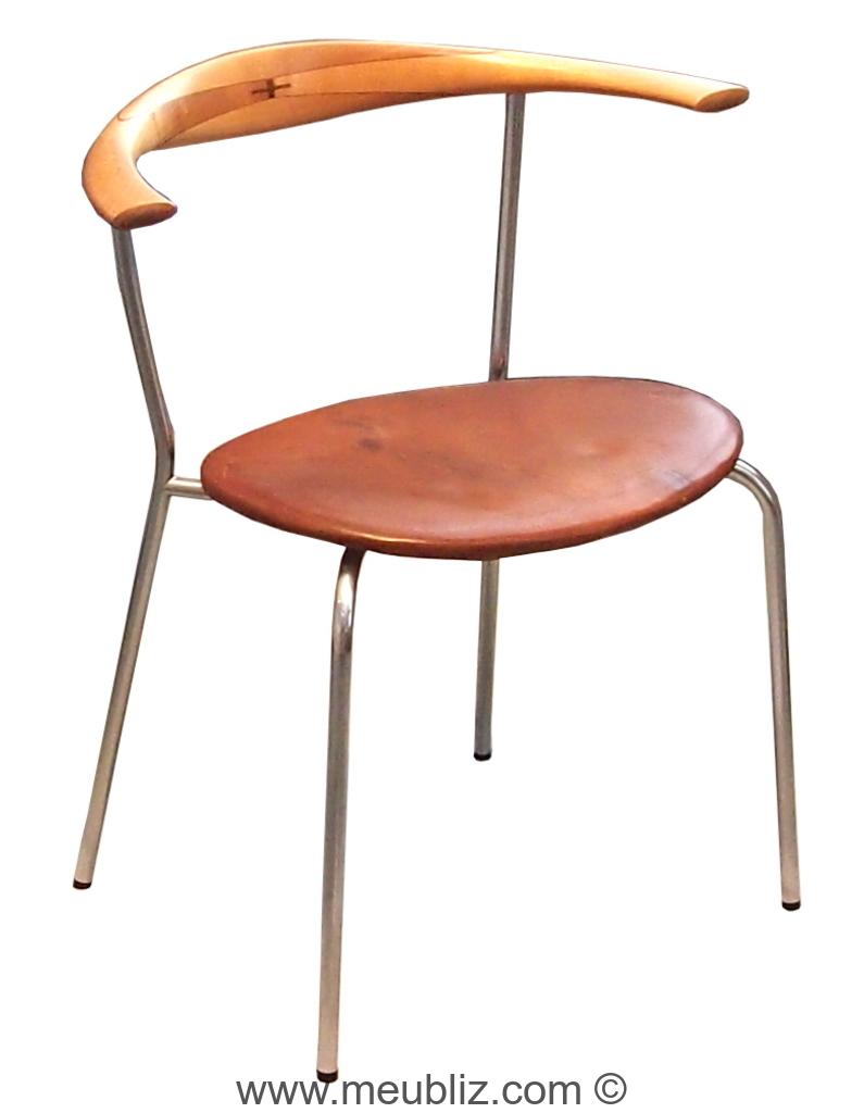 chaise ch88 jh701 pp701 par hans j wegner meuble. Black Bedroom Furniture Sets. Home Design Ideas