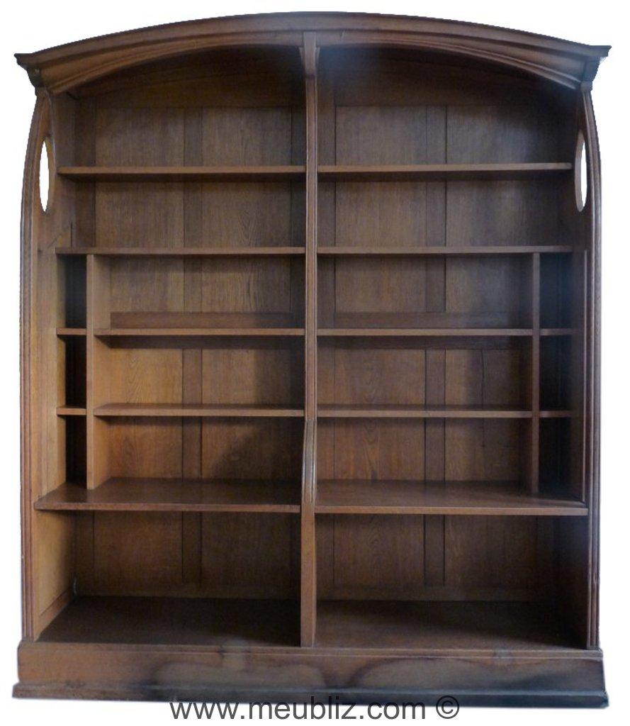 grande biblioth que tag re double par henry cl ment van de velde meuble design. Black Bedroom Furniture Sets. Home Design Ideas