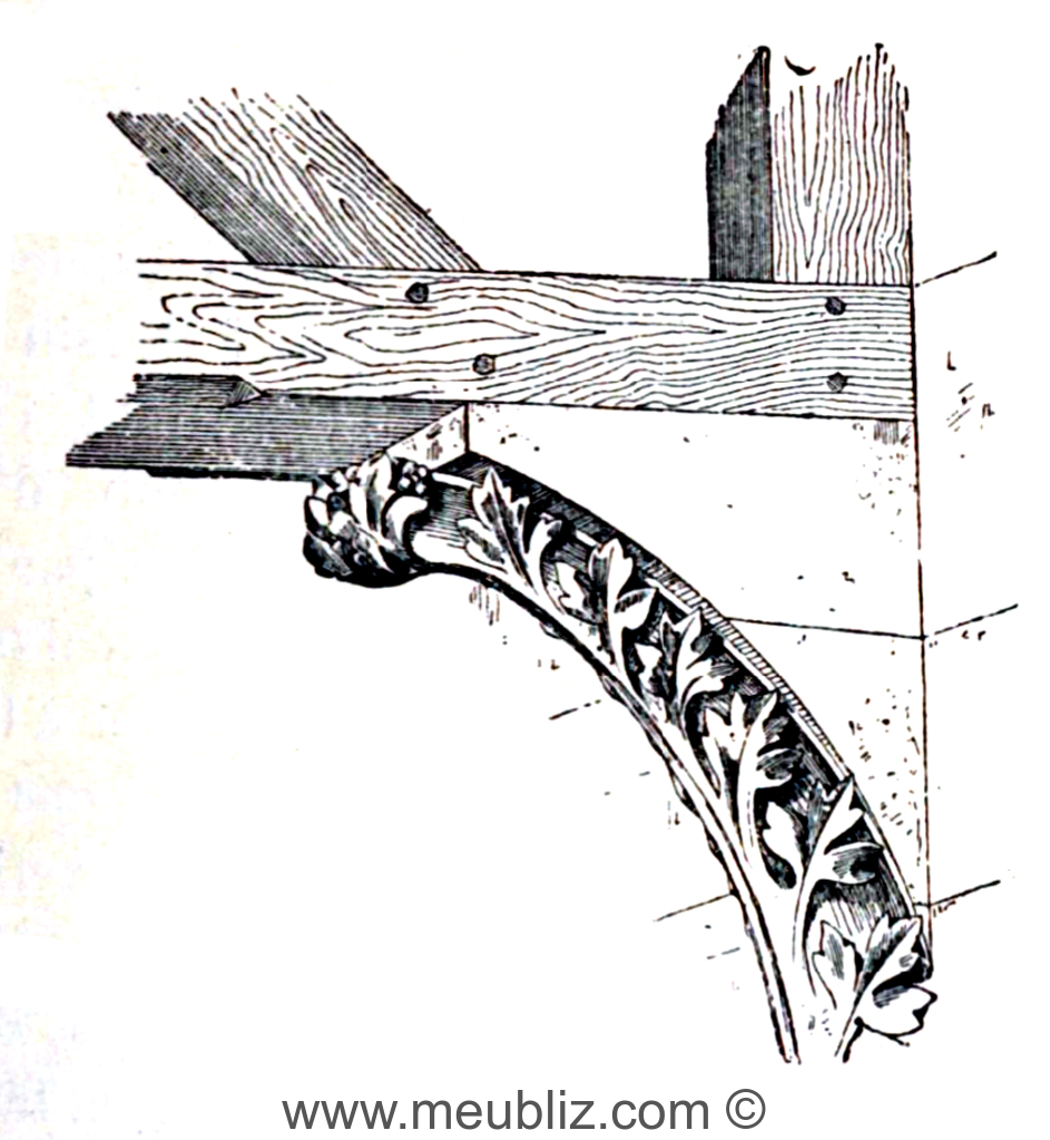 D finition d 39 un corbeau en architecture for Architecture romane definition