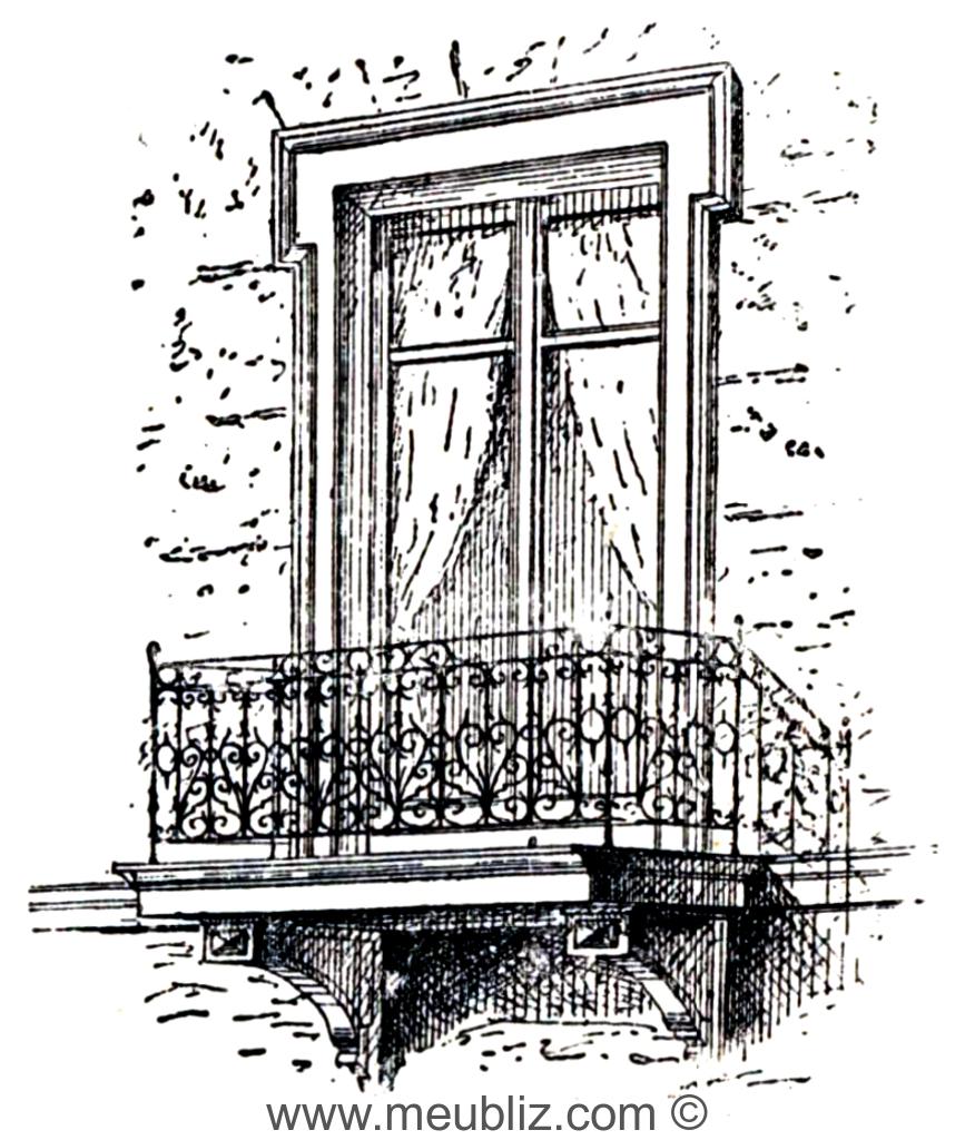 d finition de balcon