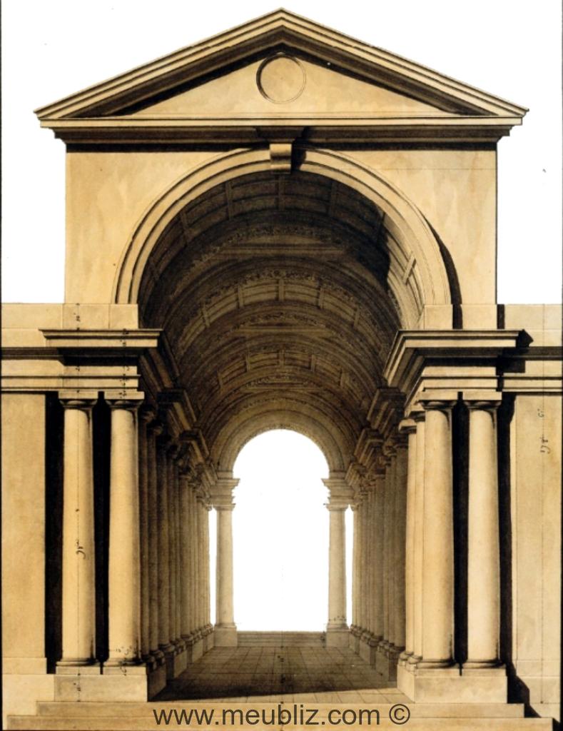 D finition d 39 une perspective for Architecture classique definition