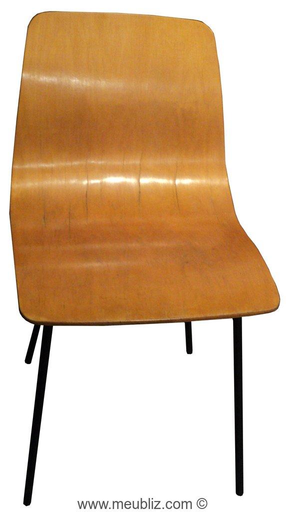 chaise papyrus par pierre guariche meuble design. Black Bedroom Furniture Sets. Home Design Ideas