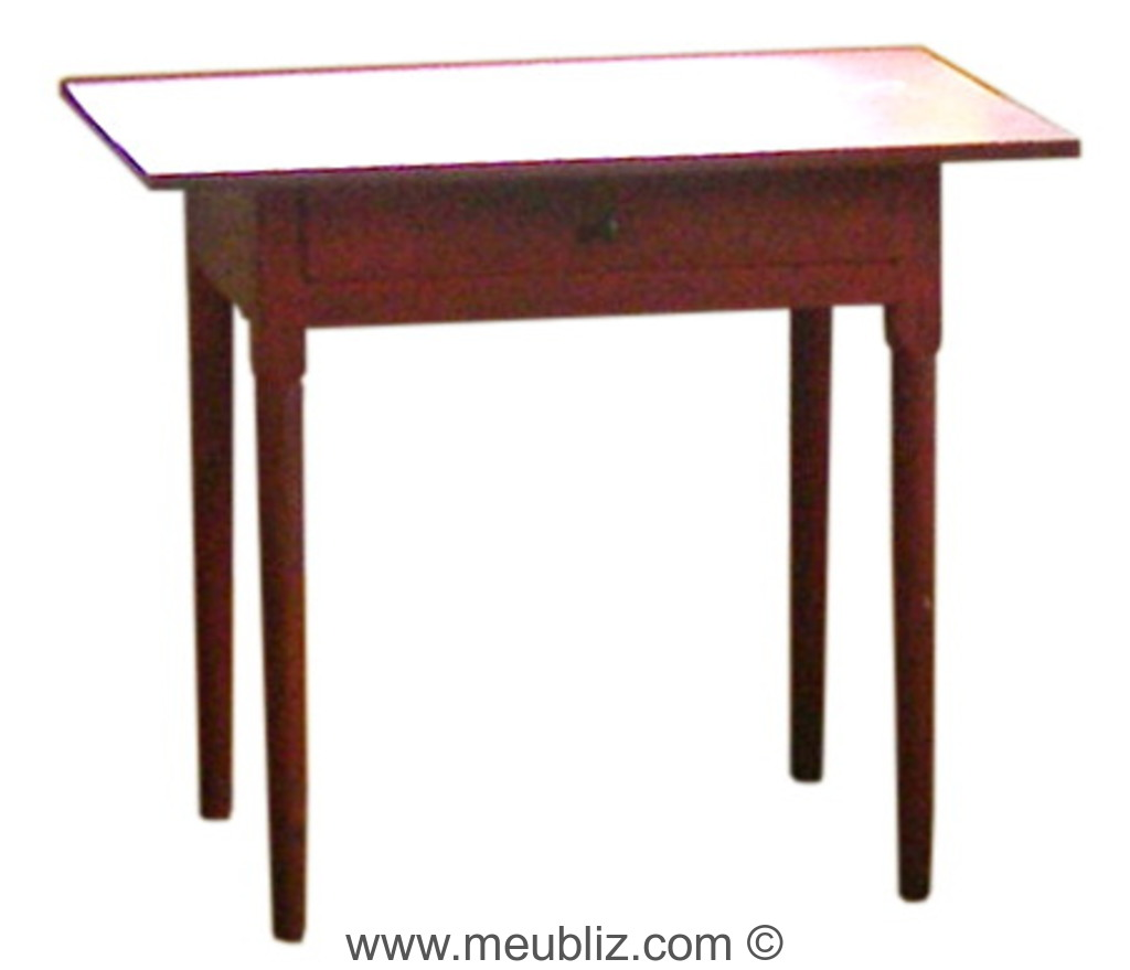 Petite table shaker meuble de style - Meuble shaker ...