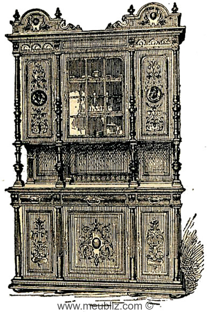 style henri ii n o renaissance 1840 1914. Black Bedroom Furniture Sets. Home Design Ideas