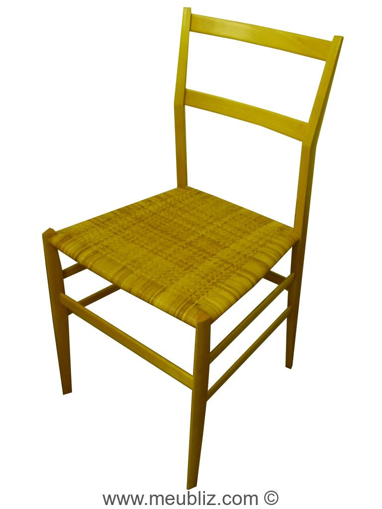 Chaise superleggera n 699 par gio ponti meuble design - Sedia leggera gio ponti ...