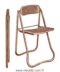 chaise pliable n°1c Bienaise