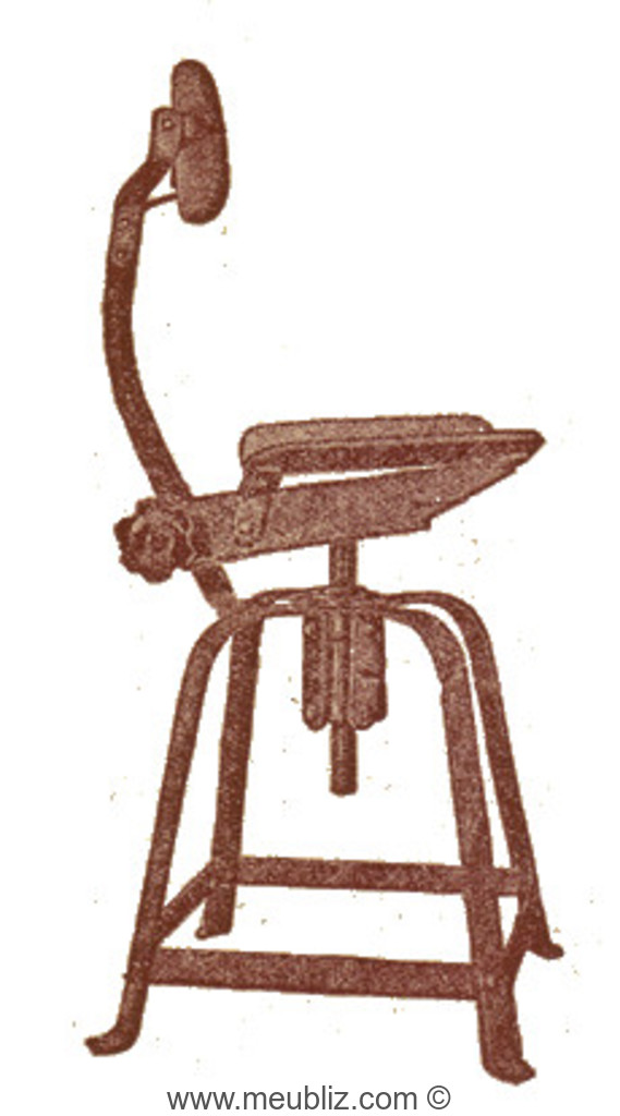 chaise d 39 atelier n 204 bienaise meuble design. Black Bedroom Furniture Sets. Home Design Ideas