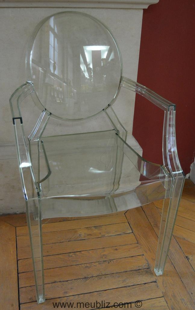 fauteuil louis ghost par philippe starck meuble design. Black Bedroom Furniture Sets. Home Design Ideas