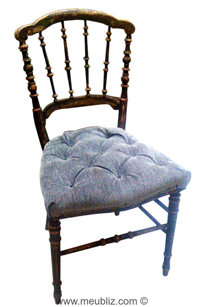 Chaise Napoléon III second Empire meubles de style et