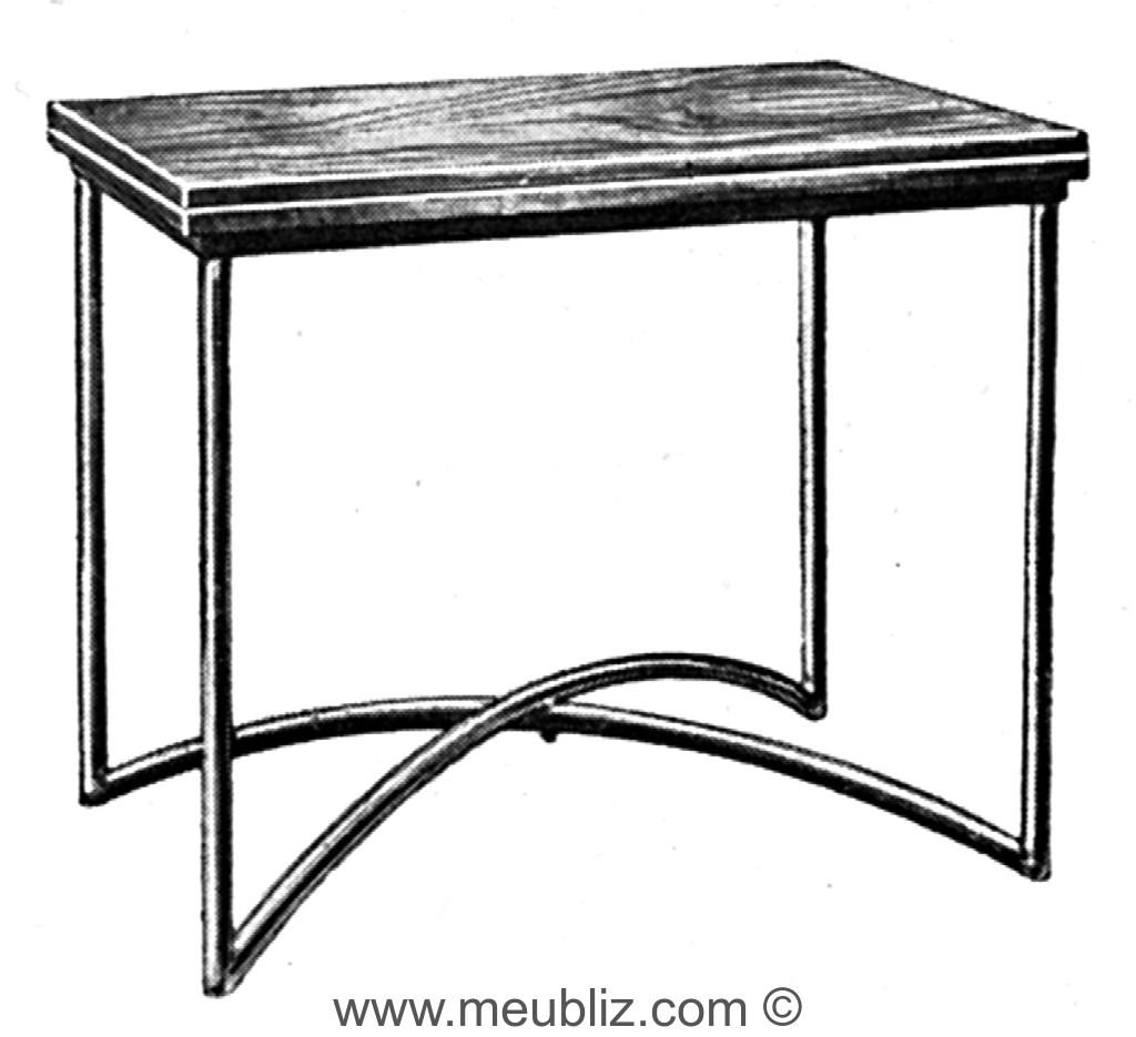 Pliable Design À Table Et Jeux Piétement Tubulaire Moderniste Y6ybfv7g