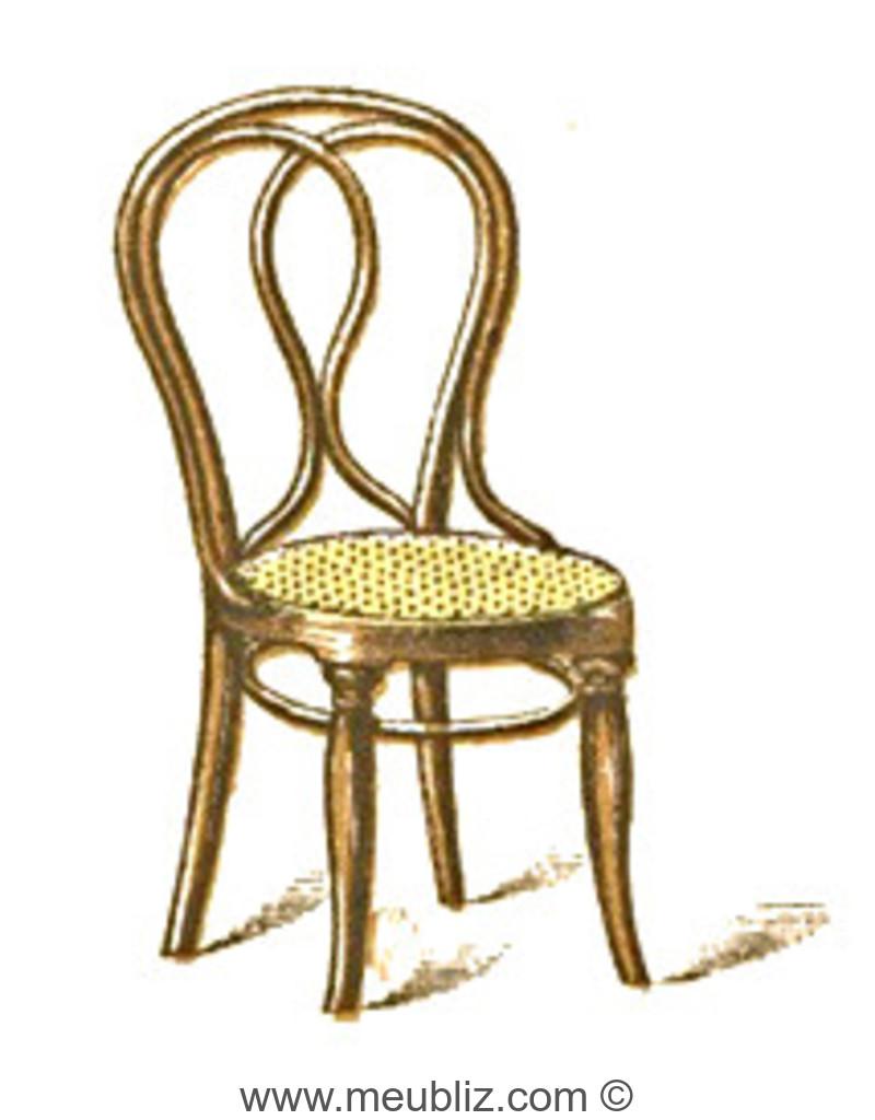 chaise n 29 par michael thonet. Black Bedroom Furniture Sets. Home Design Ideas