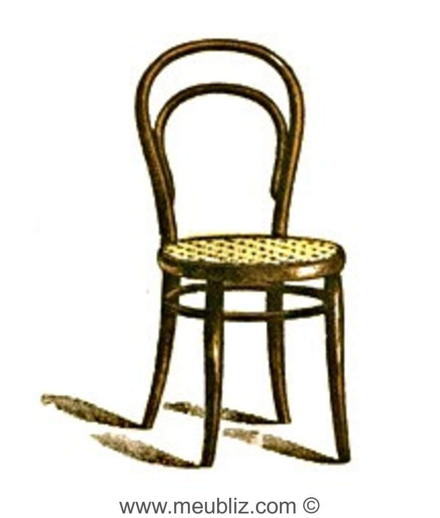 chaise n 14 et demi thonet. Black Bedroom Furniture Sets. Home Design Ideas