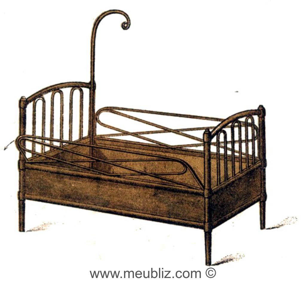 lit d 39 enfant n 5 thonet. Black Bedroom Furniture Sets. Home Design Ideas