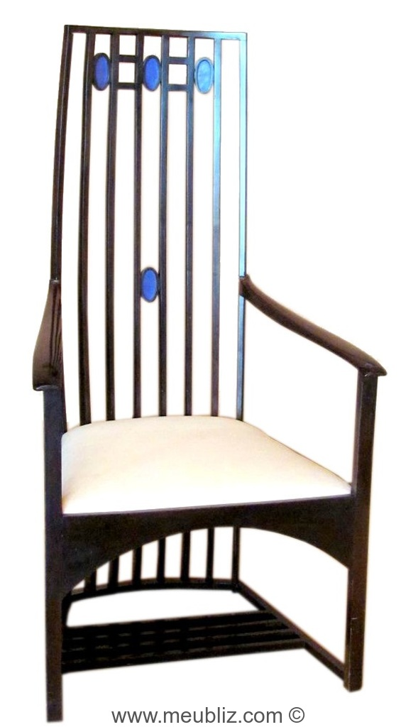chaise olives par charles rennie mackintosh meuble design. Black Bedroom Furniture Sets. Home Design Ideas