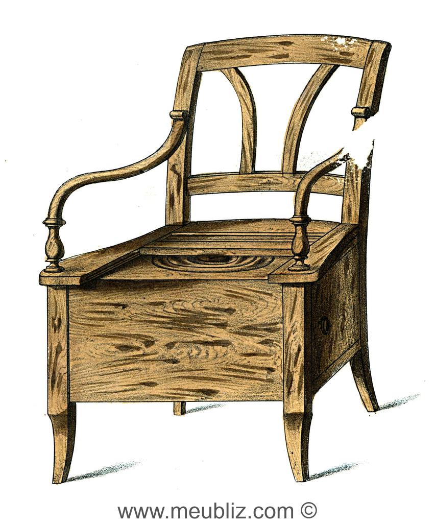 fauteuil de commodit inodore napolon iii vers 1850 - Fauteuil Napoleon 3