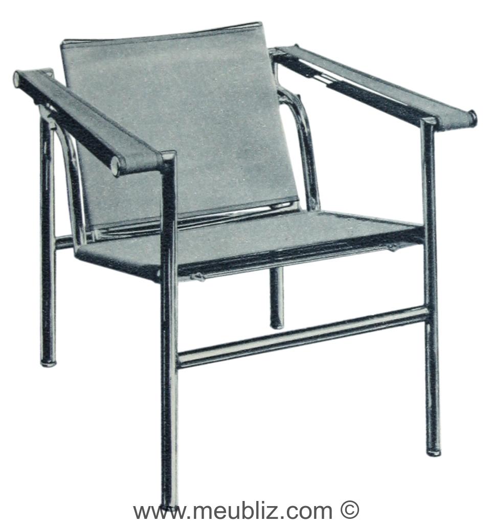 Fauteuil B301 De Le Corbusier Perriand Et Jeanneret Pour Thonet